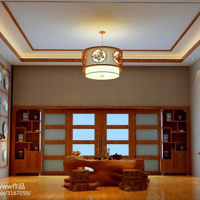 简约中式 别墅设计。非常大气