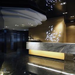 精品酒店前台装修设计