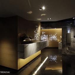 精品酒店大厅服务台装修设计