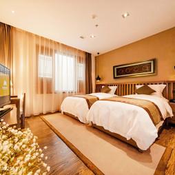 旅馆的房间装修效果图库