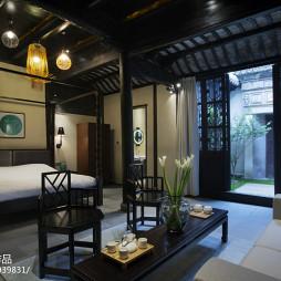 中式酒店客房装修设计