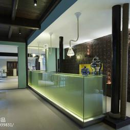 中式酒店服务台装修设计