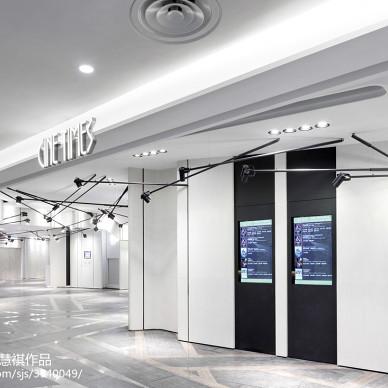 电影院入口处设计效果图