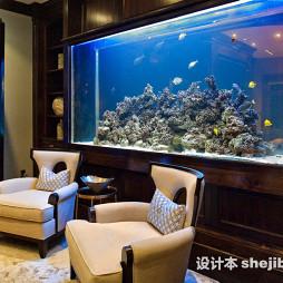 客厅鱼缸家装效果图