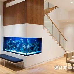 餐厅鱼缸设计
