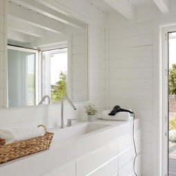 混搭风格平房卫浴装修设计