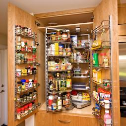 厨柜拉篮效果图片