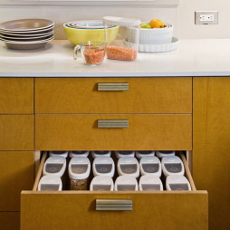 厨房收纳盒设计效果图片库