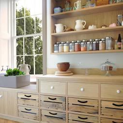 厨房储物架效果图片