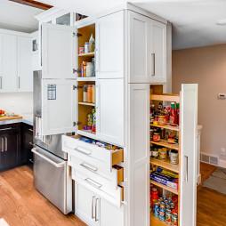 厨房储物架效果图集欣赏