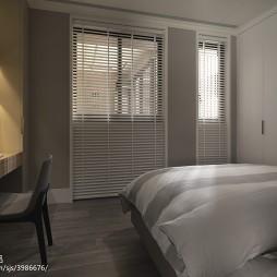 三居现代卧室衣柜家装效果图