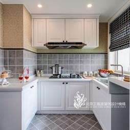 浪漫欧式厨房样板间设计效果图