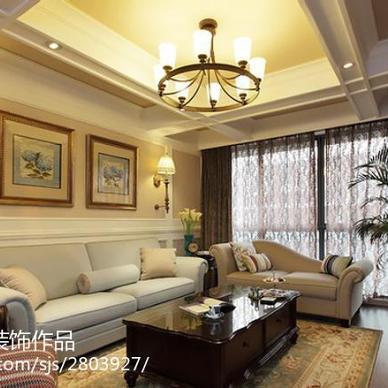 现代美式200平公寓软装方案_1863643