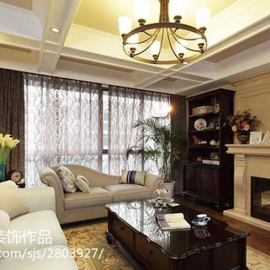 现代美式200平公寓软装方案_1863651