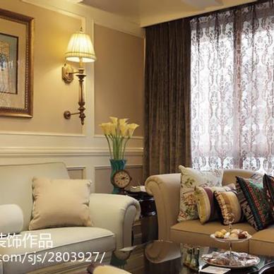 现代美式200平公寓软装方案_1863652