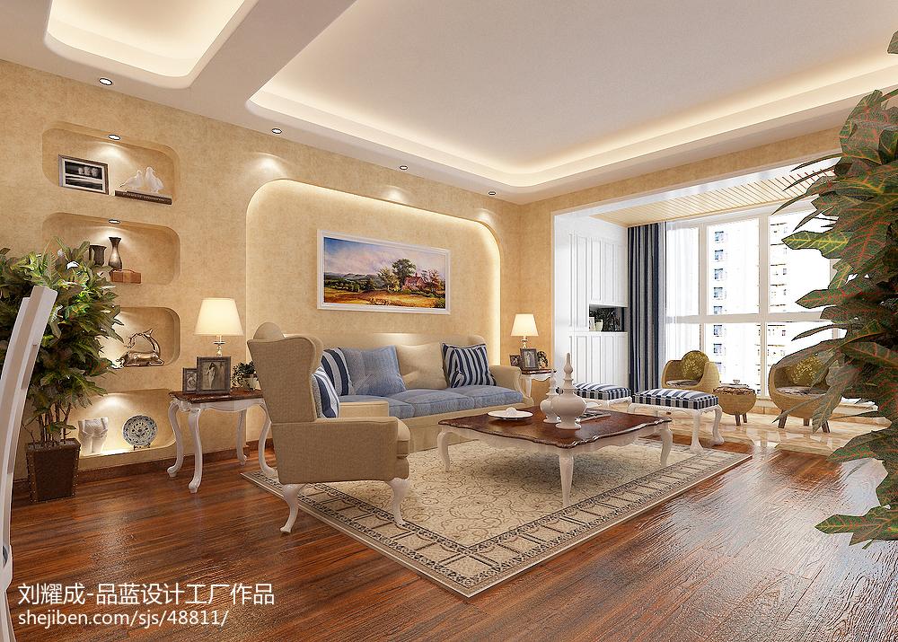 客厅装修颜色搭配_客厅装修颜色搭配效果图大全 – 设计本装修效果图