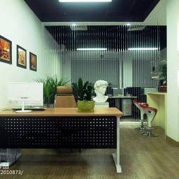 办公空间隔断设计