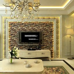 客厅背景墙设计效果图欣赏
