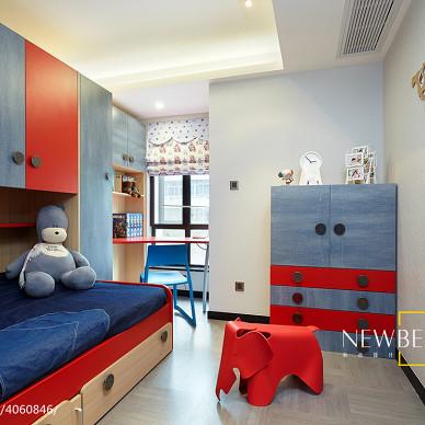 时尚现代风儿童房装修效果图