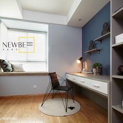 三居时尚现代书房窗台装修设计