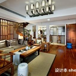 温暖现代别墅家装图片