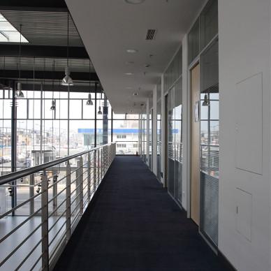 办公楼走廊设计效果图