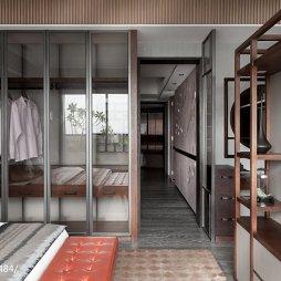 三居室混搭卧室衣橱设计