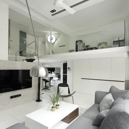 简约时尚现代客厅设计