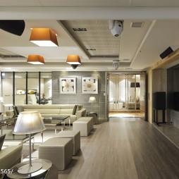 混搭风格宾馆客厅装修设计