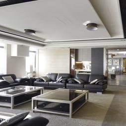 混搭风格宾馆客厅设计效果图
