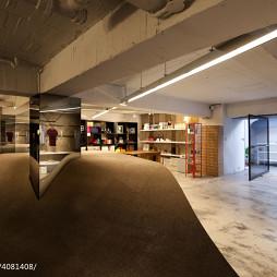 办公室展示厅隔断设计