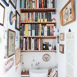 厕所书架图片