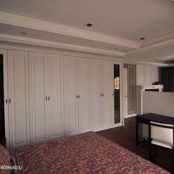 复式楼混搭卧室衣橱装修效果图
