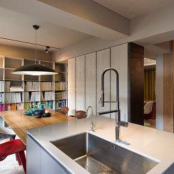 工作室休闲区洗手台装修效果图