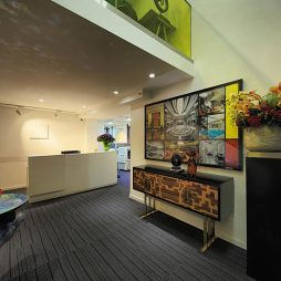创意工作室前厅设计