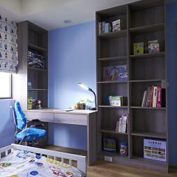 最新现代卧室书柜装修设计