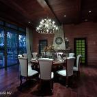 别墅会所餐厅吊顶装修设计