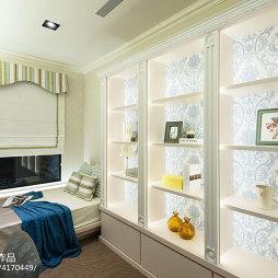 法式卧室博古架设计