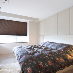 混搭风格卧室窗户装修
