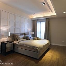 新古典卧室窗户设计