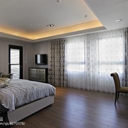 新古典卧室窗帘设计