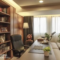 混搭客厅书房装修设计