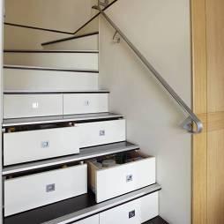 混搭楼梯设计