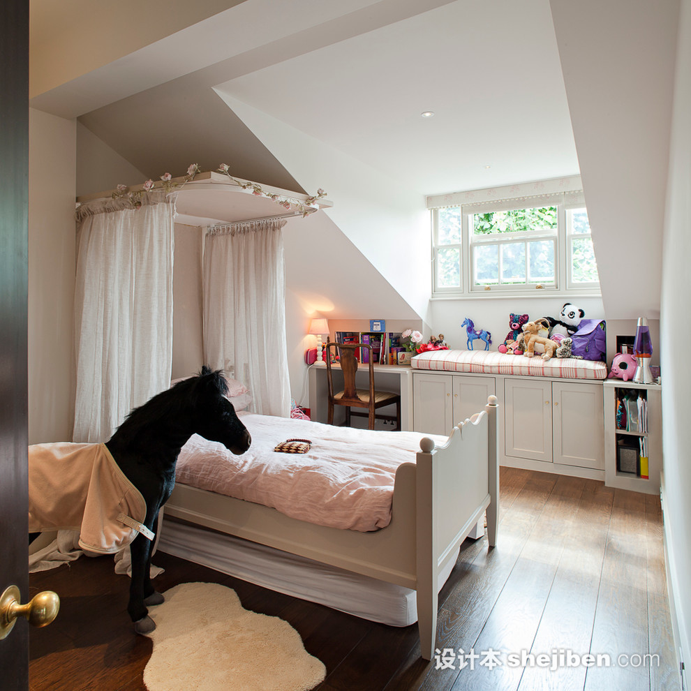 attic room ideas tumblr - 少女卧室装修效果图云集 – 设计本装修效果图