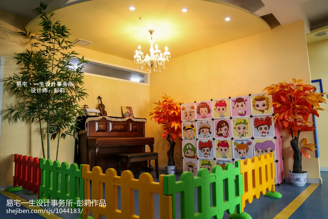 幼儿园主题墙饰设计图片库推荐