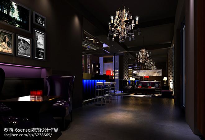酒吧装饰设计效果图图库欣赏