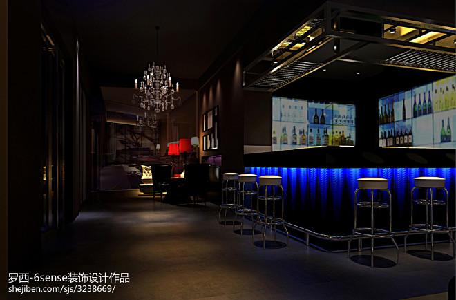 酒吧装饰设计效果图图片欣赏