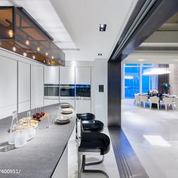 别墅样板房混搭厨房隔断装修设计