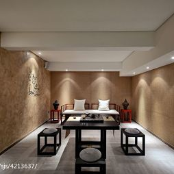 中餐厅茶室装修设计