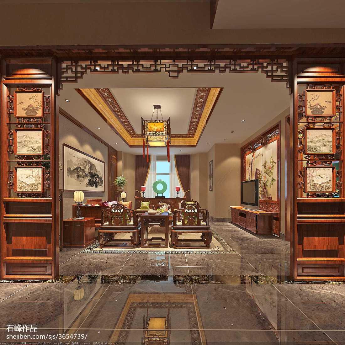 欧式拱门效果图_中式别墅客厅拱门效果图大全 – 设计本装修效果图